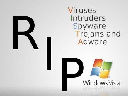 Микрософт, Виндовс Виста - RIP