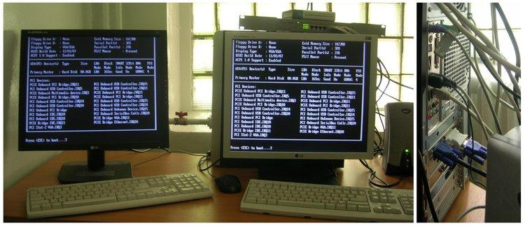 Multiseat, Эффективное использование 2 ядерных процессоров в Linux