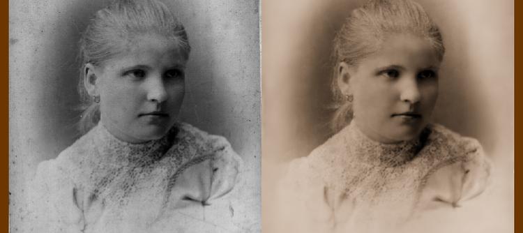 Уроки Gimp: Реставрация старой фотографии